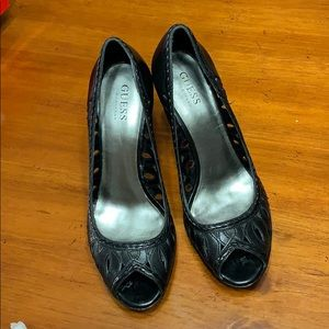"""Guess by Marciano """"Raise"""" Heels"""